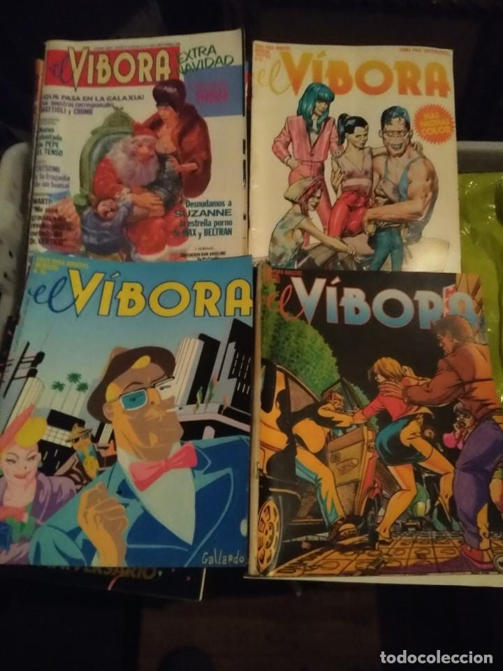 EL VIBORA, 8 NUMEROS (Tebeos y Comics - La Cúpula - El Víbora)
