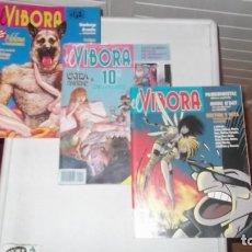 Cómics: LOTE DE 3 COMICS EL VIBORA. Lote 171707447