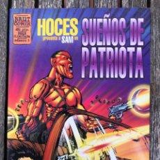 Cómics: SUEÑOS DE PATRIOTA. AUTOR, JUAN JOSÉ HOCES. EDICIONES LA CÚPULA AÑO 1995. IMPECABLE. Lote 171827650