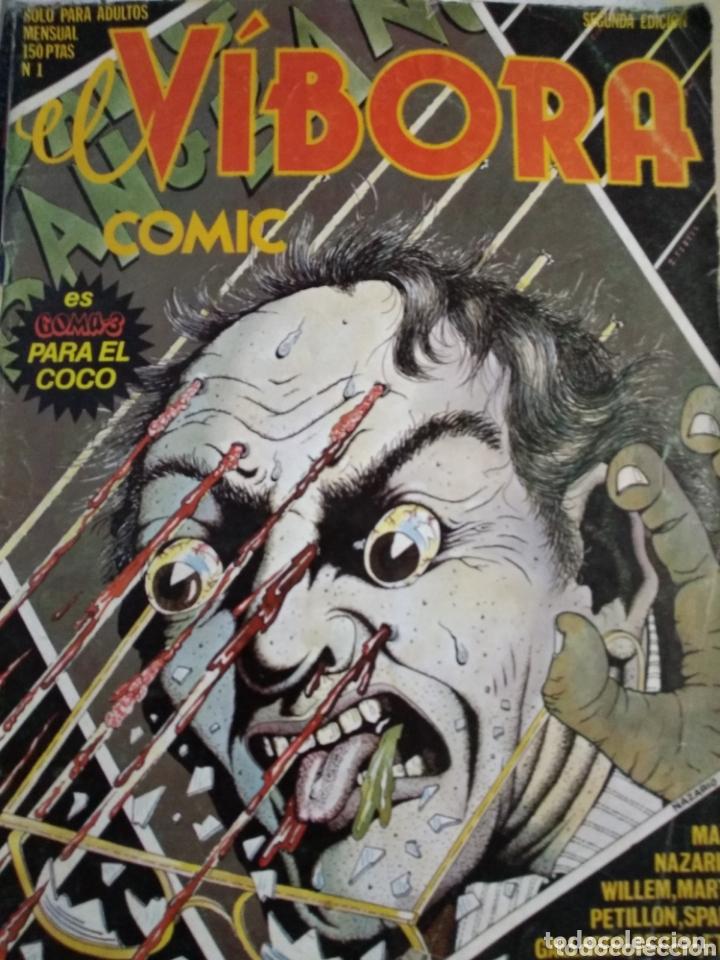 EL VÍBORA CÓMIC. NÚMERO 1. SEGUNDA EDICIÓN. AÑO 1979. PÁGINAS 66. PESO 250 GR. (Tebeos y Comics - La Cúpula - El Víbora)