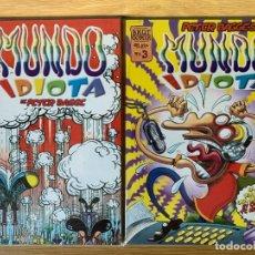 Cómics: MUNDO IDIOTA Nº 1 AL 3 ( POR PETER BAGGE ). Lote 172489494