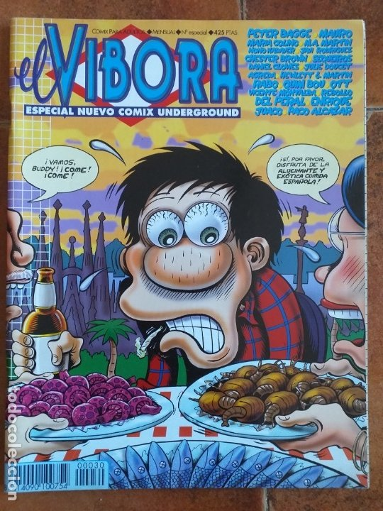 EL VIBORA - ESPECIAL NUEVO COMIC UNDERGROUND. (Tebeos y Comics - La Cúpula - El Víbora)