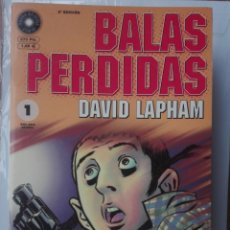 Cómics: BALAS PERDIDAS DE DAVID LAPHAM COMPLETA # W . Lote 174158039