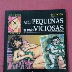 Cómics: COMIC EROTICO - COLECCIÓN X COLOR - NUM. 76 - MÁS PEQUEÑAS Y MÁS VICIOSAS - MONICA & BEATRIZ. Lote 174427930