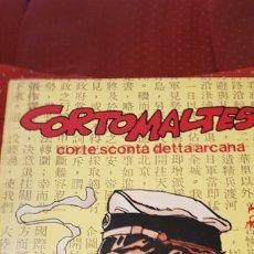 Cómics: CORTO MALTESE: CORTE SCONTA DETTA ARCANA. Lote 175081399