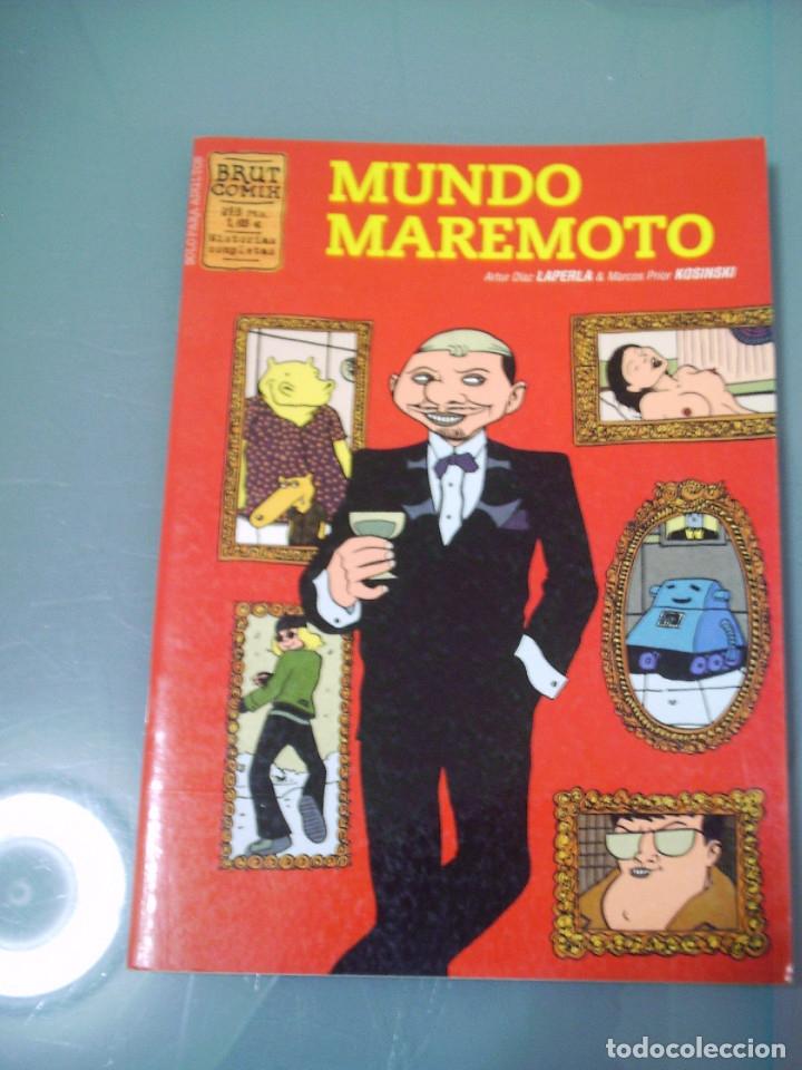 MUNDO MAREMOTO (Tebeos y Comics - La Cúpula - Autores Españoles)