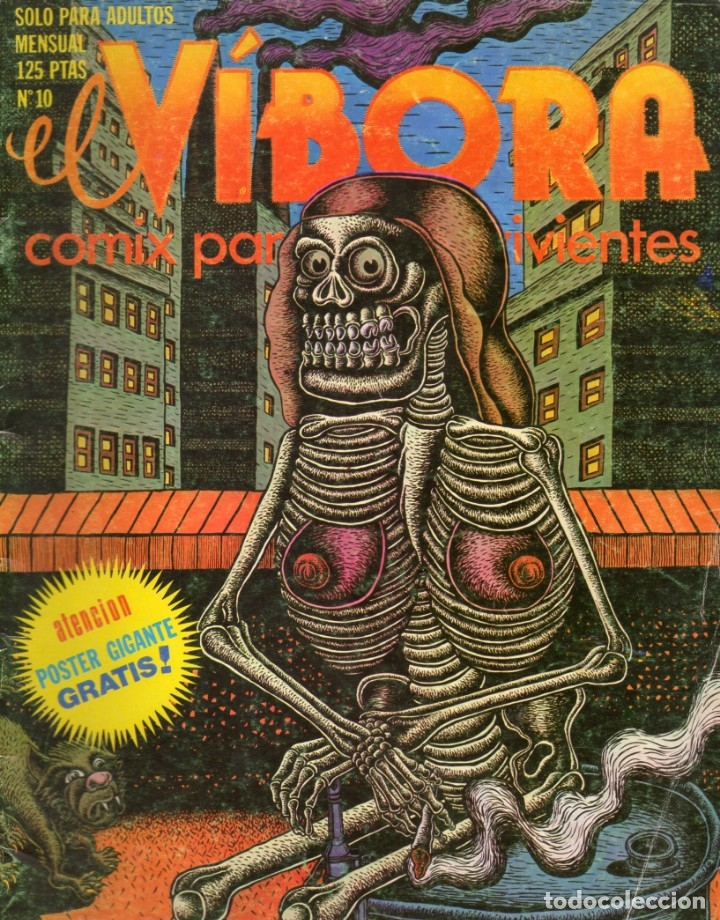 EL VIBORA, Nº 10. 1980. (Tebeos y Comics - La Cúpula - El Víbora)