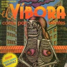 Cómics: EL VIBORA, Nº 10. 1980.. Lote 175523649