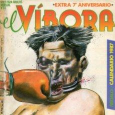 Cómics: EL VIBORA, Nº 83. ESPEICAL 7º ANIVERSARIO. 1984.. Lote 175524797