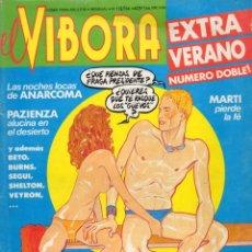 Cómics: EL VIBORA, EXTRA VERANO. Nº 113 Y 114. 1985.. Lote 175525780