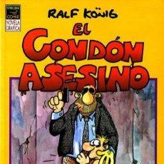 Cómics: EL CONDÓN ASESINO Y EL RETORNO DE EL CONDÓN ASESINO EDICIONES LA CUPULA. Lote 207152782