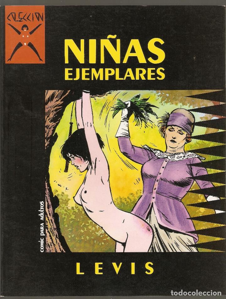 COLECCION X - Nº 1 - NIÑAS EJEMPLARES - PRIMERA EDICION - LA CUPULA 1986 - 525PTS - (Tebeos y Comics - La Cúpula - Comic Europeo)