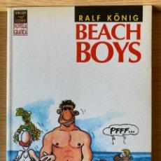 Cómics: RALF KÖNIG. BEACH BOYS. LA CÚPULA PRIMERA EDICIÓN 1993. Lote 175995868