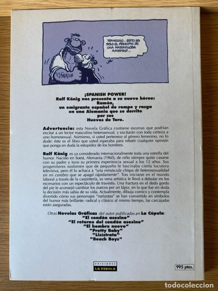 Cómics: RALF KÖNIG. HUEVOS DE TORO. LA CÚPULA PRIMERA EDICIÓN 1994 - Foto 2 - 175996045