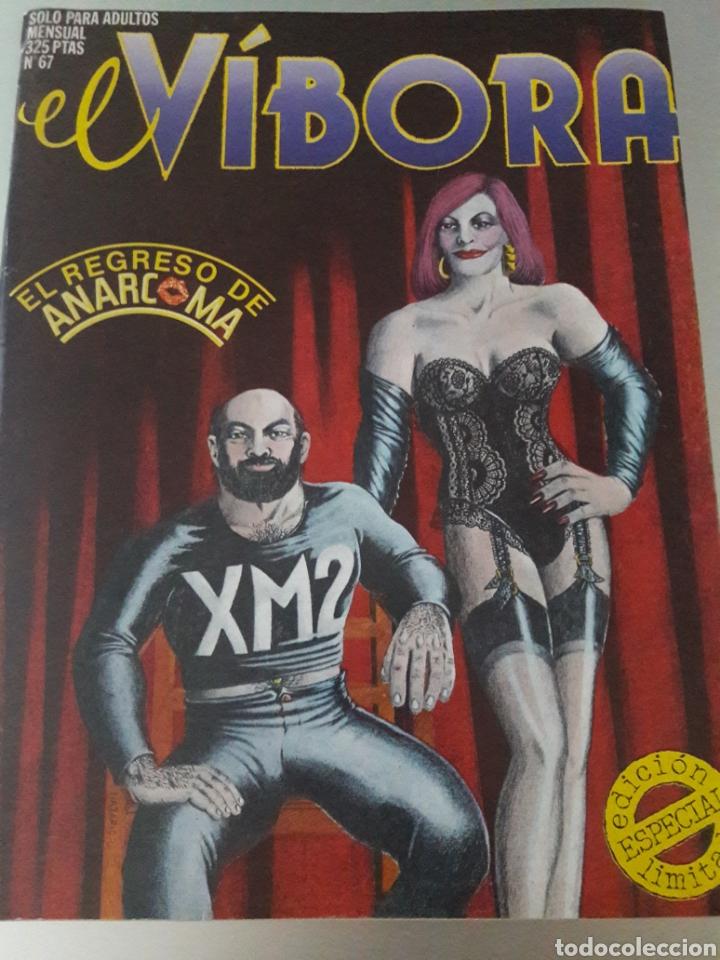 LOTE 7 CÓMICS EL VÍBORA N°67 N°82 N°100 N°111 N°133 N°136 Y DOBLE N°138~139 (Tebeos y Comics - La Cúpula - El Víbora)