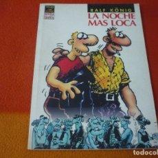 Cómics: LA NOCHE MAS LOCA ( RALF KONIG ) NOVELA GRAFICA LA CUPULA VIBORA COMIX. Lote 176237589