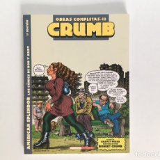 Comics : ROBERT CRUMB: OBRAS COMPLETAS 12. AMERICAN SPLENDOR. LA CÚPULA.. Lote 177006514