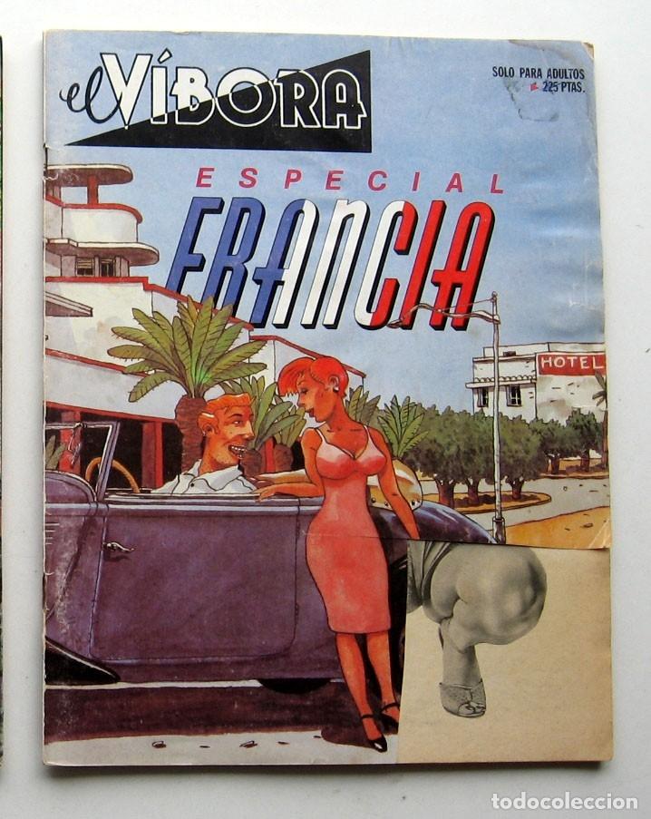 Cómics: Tres especiales El Vibora: Especial Francia - Especial Guerra - Especial Pasión - Foto 3 - 177374980