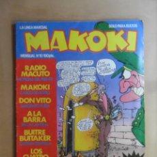 Cómics: Nº 10 - MAKOKI - ESPECIAL MILI - ED. LA CUPULA - OCTUBRE 1983. Lote 177571015