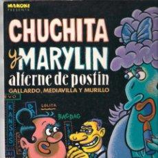 Fumetti: CHUCHITA Y MARYLIN ALTERNE DE POSTÍN - GALLARDO, MEDIAVILLA - COLECCIÓN MAKOKI Nº 2. 1984 LA CÚPULA.. Lote 177897137