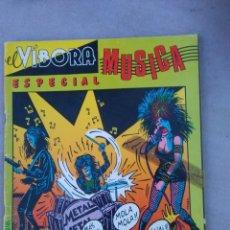 Cómics: EL VIBORA. ESPECIAL MUSICA-. Lote 178073463