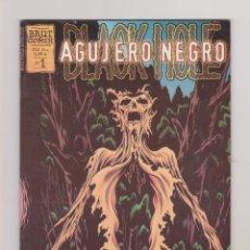 Cómics: AGUJERO NEGRO - BRUT COMIX Nº 1: BIOLOGÍA 101 - PERFECTO ESTADO. Lote 178134157