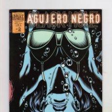 Cómics: AGUJERO NEGRO - BRUT COMIX Nº 2: CORRIENDO HACIA ALGO - PERFECTO ESTADO. Lote 178134660