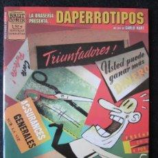 Cómics: LA BRASERÍA PRESENTA... DAPERROTIPOS UN TBO DE CARLO HART - BRUT COMIX - EDICIONES LA CÚPULA. Lote 178251126