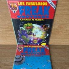 Cómics: LOS FABULOSOS FREAK BROTHERS - OBRAS COMPLETAS SHELTON 7 - LA VUELTA AL MUNDO I Y II - 1990. Lote 178791985