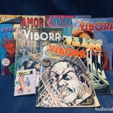 Cómics: LOTE DE 6 REVISTAS EL VIBORA ESPECIAL AMOR Y MINI COMIC. Lote 178801135