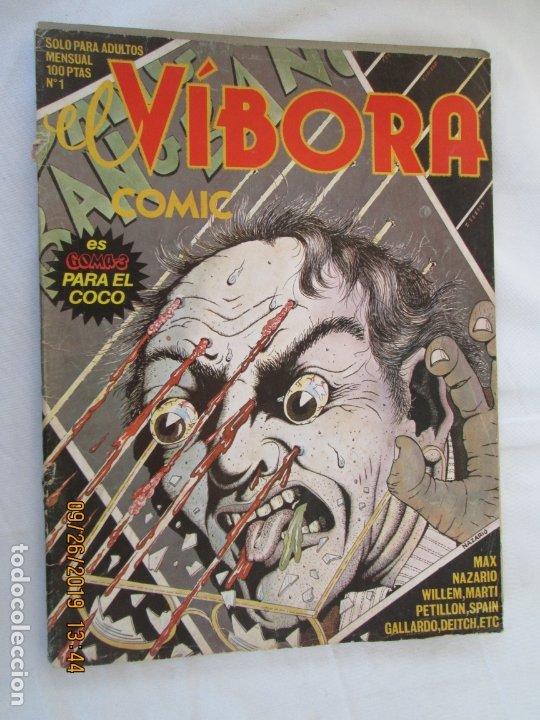 EL VIBORA Nº 1 COMIC PARA ADULTOS - EDITADO EN 1979- 1ª EDICIÓN. (Tebeos y Comics - La Cúpula - El Víbora)