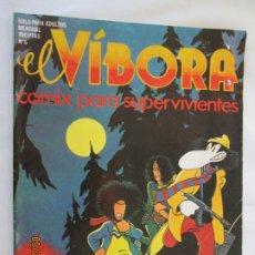 Cómics: EL VIBORA Nº 5 COMIX PARA SUPERVIVIENTES . Lote 178802902