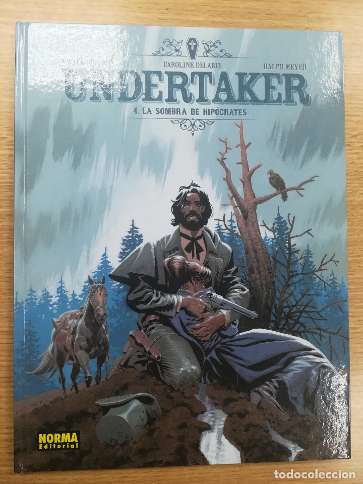 UNDERTAKER #4 LA SOMBRA DE HIPOCRATES (Tebeos y Comics - La Cúpula - Comic Europeo)