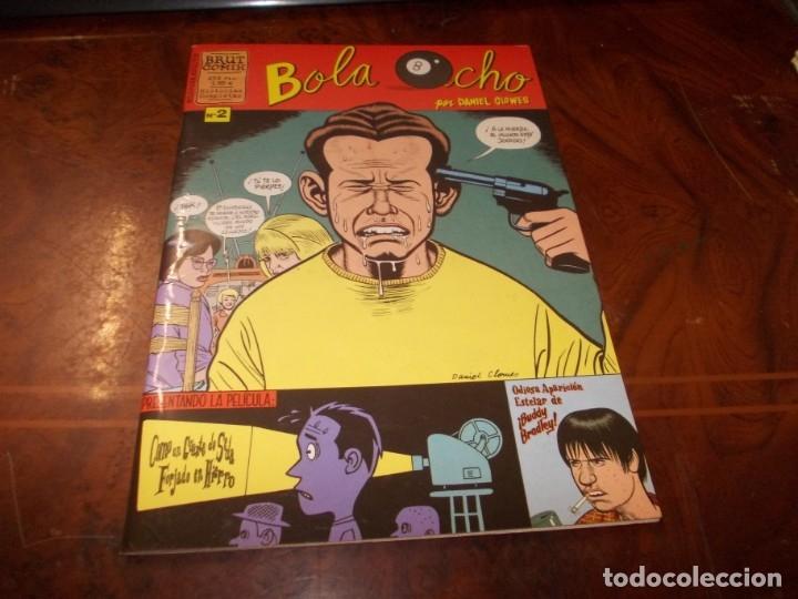 BOLA OCHO Nº 2 POR DANIEL CLOWES. 1.999 (Tebeos y Comics - La Cúpula - Comic USA)