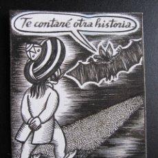 Cómics: ERNESTO CARRATALÁ. DIBUJANTE VIBORA. ORIGINAL A TINTA. 10,5 X 8 CM. Lote 181194393