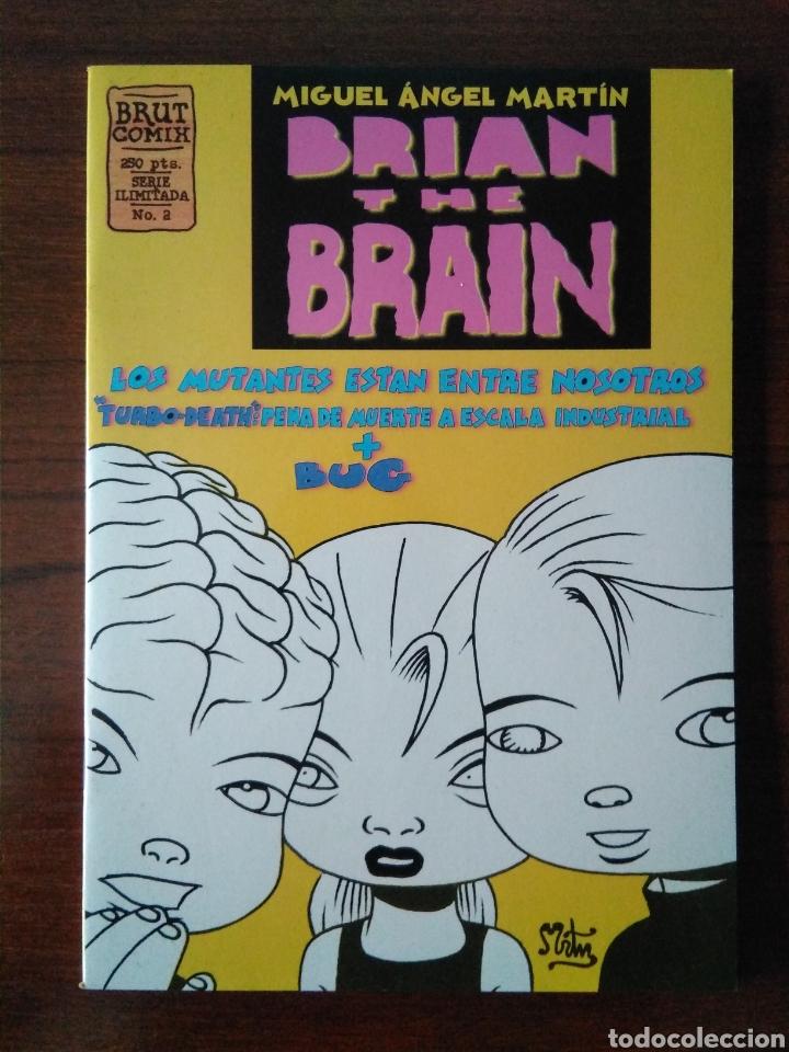 Cómics: Brian the brain - Miguel Angel Martin - bug - Ediciones La Cúpula 1995-1998 - Foto 4 - 181347057