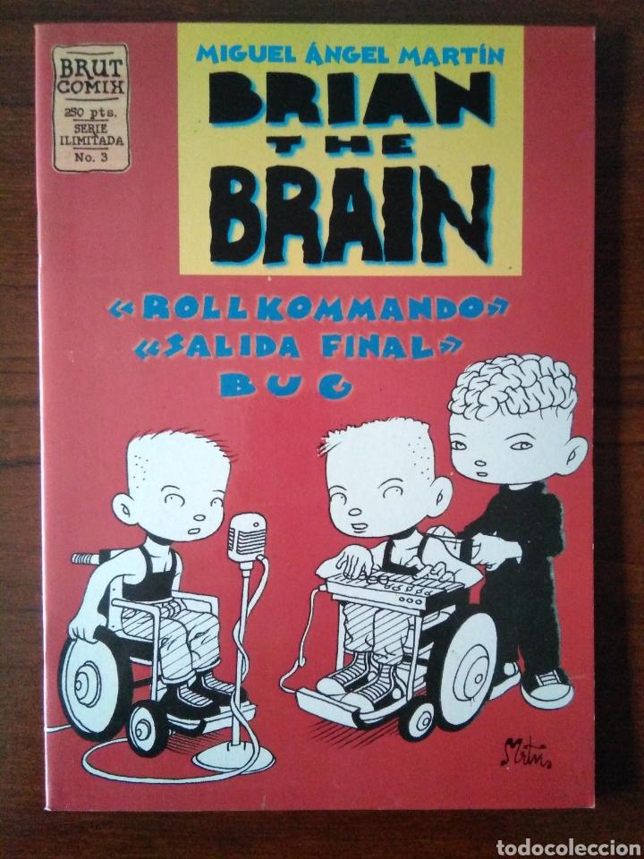 Cómics: Brian the brain - Miguel Angel Martin - bug - Ediciones La Cúpula 1995-1998 - Foto 6 - 181347057