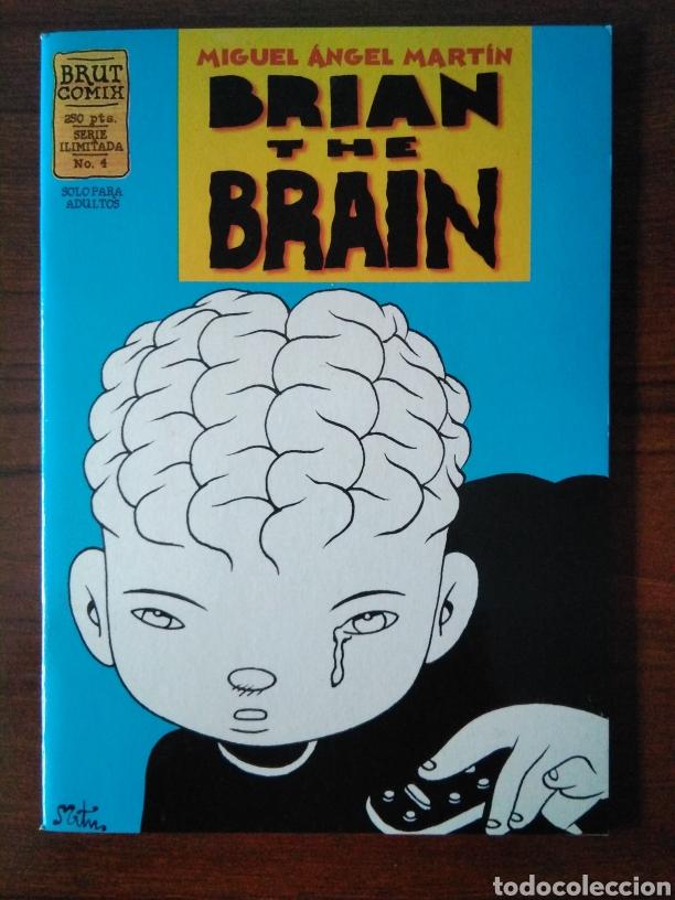 Cómics: Brian the brain - Miguel Angel Martin - bug - Ediciones La Cúpula 1995-1998 - Foto 8 - 181347057