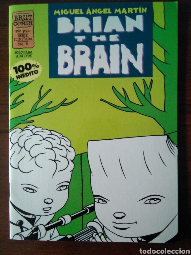 Cómics: Brian the brain - Miguel Angel Martin - bug - Ediciones La Cúpula 1995-1998 - Foto 10 - 181347057