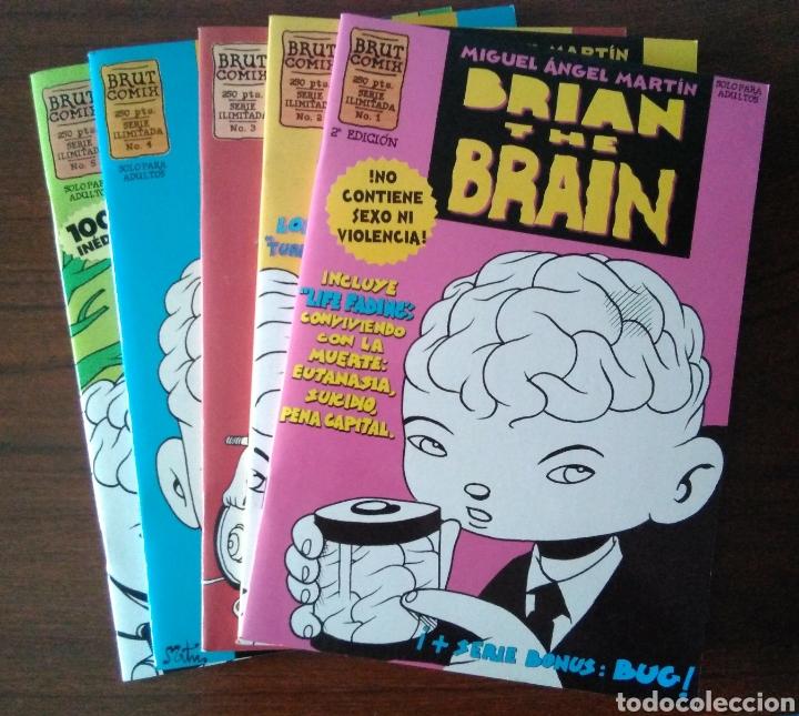 BRIAN THE BRAIN - MIGUEL ANGEL MARTIN - BUG - EDICIONES LA CÚPULA 1995-1998 (Tebeos y Comics - La Cúpula - Autores Españoles)