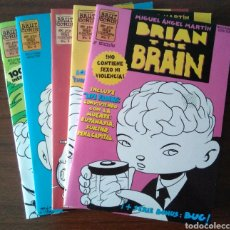 Cómics: BRIAN THE BRAIN - MIGUEL ANGEL MARTIN - BUG - EDICIONES LA CÚPULA 1995-1998. Lote 181347057