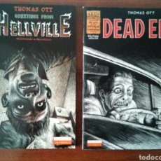 Cómics: THOMAS OTT - GREETINGS FROM HELLVILLE - DEAD END - LA CÚPULA. Lote 181348675