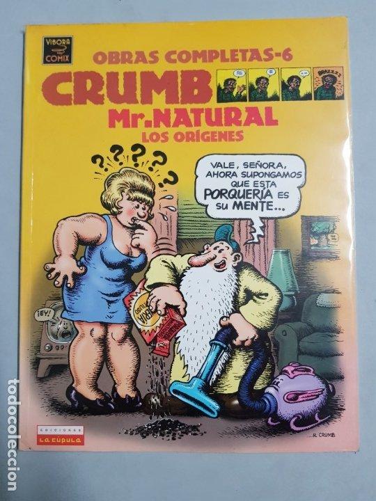 CRUMB MR.NATURAL LOS ORIGENES OBRAS COMPLETAS ESTADO MUY BUENO NEGOCIABLE (Tebeos y Comics - La Cúpula - Comic USA)