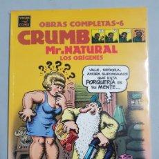 Fumetti: CRUMB MR.NATURAL LOS ORIGENES OBRAS COMPLETAS ESTADO MUY BUENO NEGOCIABLE. Lote 182018578
