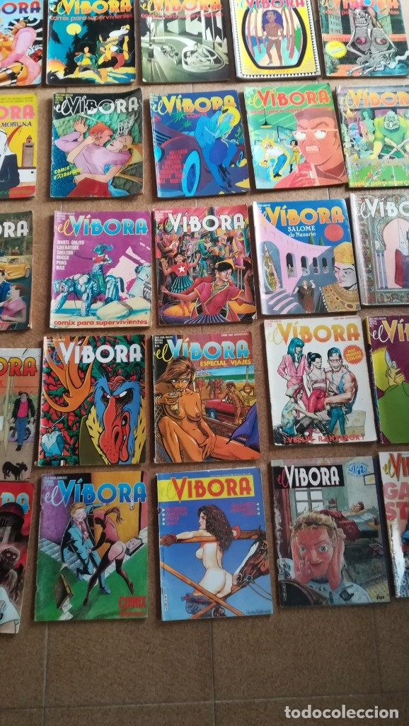EL VÍBORA ED LA CÚPULA NUMEROS SUELTOS A 3 €. COMIC PARA ADULTOS (Tebeos y Comics - La Cúpula - El Víbora)