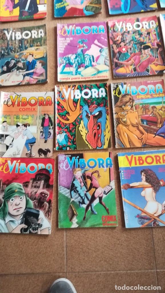 Cómics: EL VÍBORA ED LA CÚPULA NUMEROS SUELTOS A 3 €. COMIC PARA ADULTOS - Foto 4 - 182572380