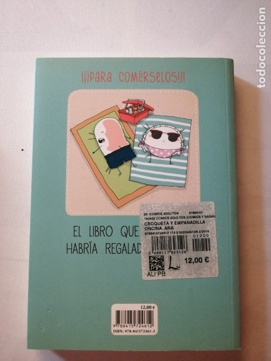 Cómics: CÓMIC CROQUETA Y EMPANADILLA Y RECORTABLES.ANA ONCINA.LA CUPULA. - Foto 2 - 182898223