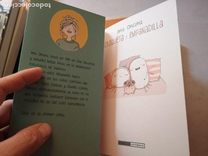 Cómics: CÓMIC CROQUETA Y EMPANADILLA Y RECORTABLES.ANA ONCINA.LA CUPULA. - Foto 7 - 182898223