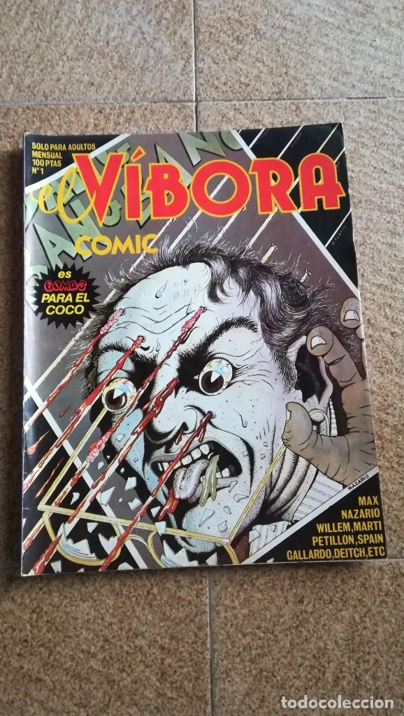 EL VÍBORA NUMERO 1 COMIC LA CÚPULA AÑO 1979 PERFECTO ESTADO (Tebeos y Comics - La Cúpula - El Víbora)