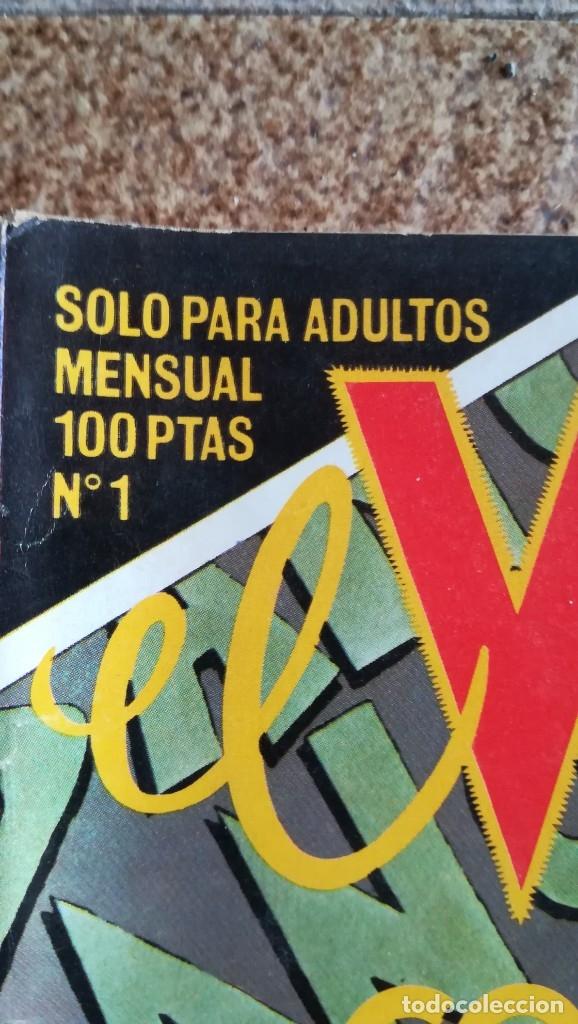 Cómics: EL VÍBORA NUMERO 1 comic La Cúpula año 1979 perfecto estado - Foto 2 - 182960725